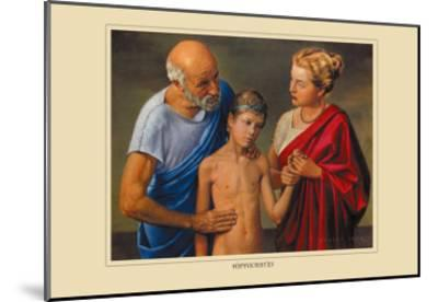 Hippocrates-Robert Thom-Mounted Art Print