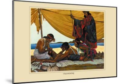 Trephining-Robert Thom-Mounted Art Print