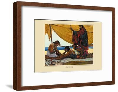 Trephining-Robert Thom-Framed Art Print