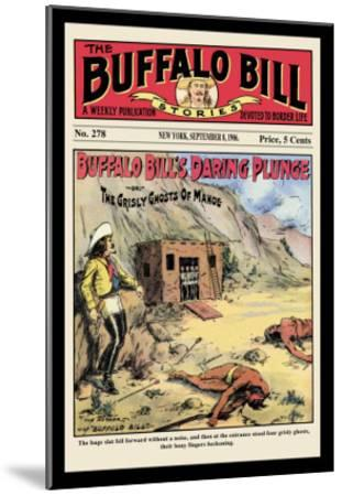 The Buffalo Bill Stories: Buffalo Bill's Daring Plunge--Mounted Art Print