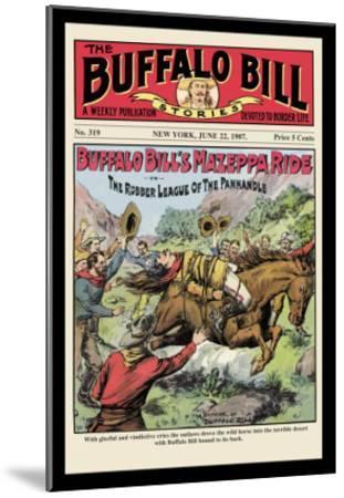 The Buffalo Bill Stories: Buffalo Bill's Mazeppa Ride--Mounted Art Print