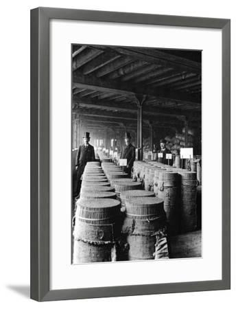 Cinnamon Sacks, London--Framed Art Print