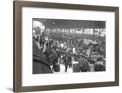 Paddington Station, London--Framed Art Print