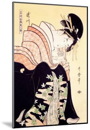 Love Letter-Kitagawa Utamaro-Mounted Art Print