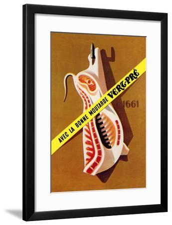 Hooked Pork--Framed Art Print