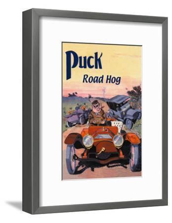Puck, Road Hog-E. Baker-Framed Art Print