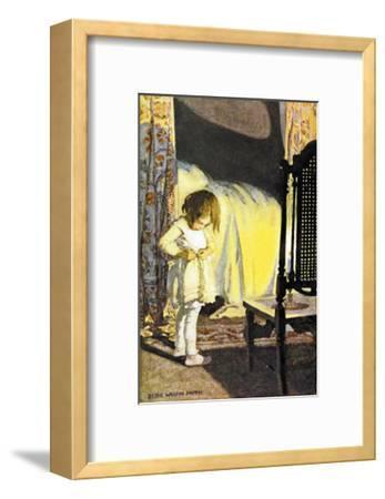 Bed in Summer-Jessie Willcox-Smith-Framed Art Print