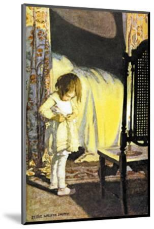 Bed in Summer-Jessie Willcox-Smith-Mounted Art Print
