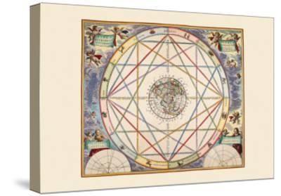 Typus Aspectuum-Andreas Cellarius-Stretched Canvas Print