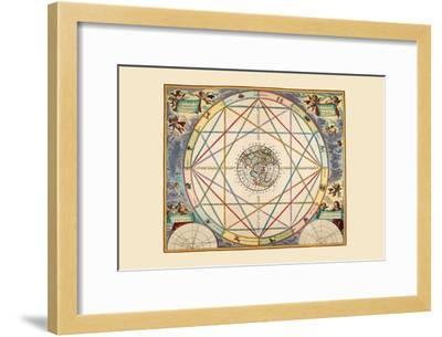 Typus Aspectuum-Andreas Cellarius-Framed Art Print