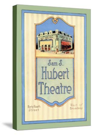 Sam S. Hubert Theatre--Stretched Canvas Print