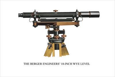 The Berger Engineers' 18 Inch Wye Level--Stretched Canvas Print