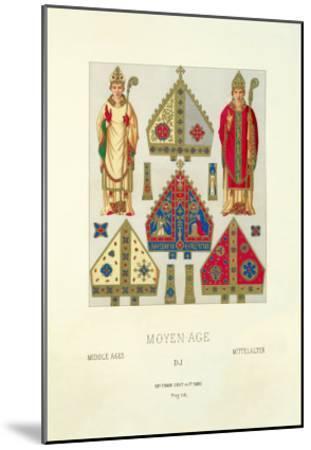 Moyen-Age--Mounted Art Print