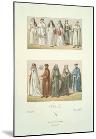 Italie--Mounted Art Print
