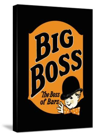 Big Boss--Stretched Canvas Print