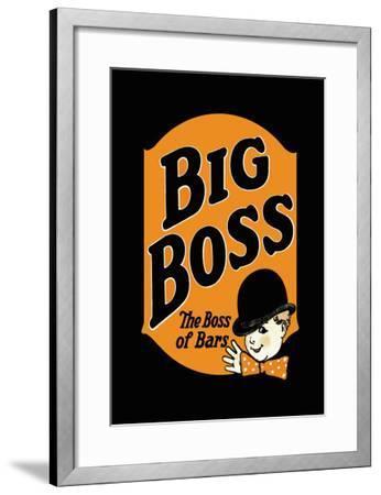Big Boss--Framed Art Print