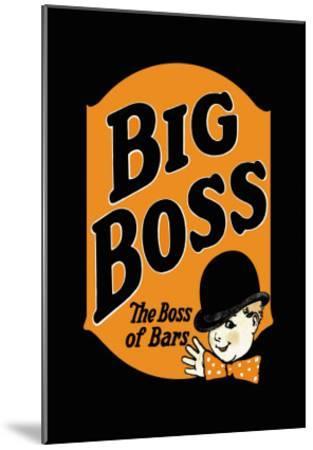 Big Boss--Mounted Art Print