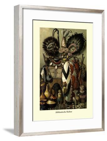 Afrikanische Kultur--Framed Art Print