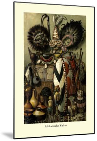Afrikanische Kultur--Mounted Art Print