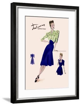 Style for Every Day--Framed Art Print