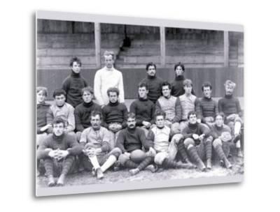 University of Pennsylvania Football Team, Philadelphia, Pennsylvania--Metal Print