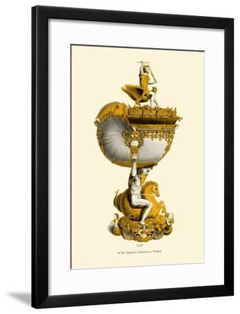 Cup in Her Majesty's Collection at Windsor-H. Shaw-Framed Art Print
