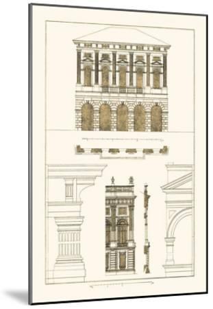 Palazzo Verzi at Verona, Palazzo Madama-J^ Buhlmann-Mounted Art Print