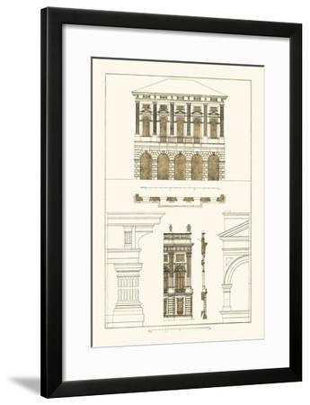 Palazzo Verzi at Verona, Palazzo Madama-J^ Buhlmann-Framed Art Print