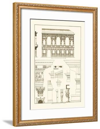 Palazzo Bevilacqua at Verona-J^ Buhlmann-Framed Art Print