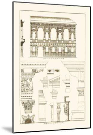 Palazzo Bevilacqua at Verona-J^ Buhlmann-Mounted Art Print