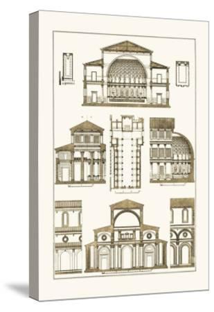 Interior of Basilica-J^ Buhlmann-Stretched Canvas Print