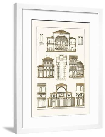 Interior of Basilica-J^ Buhlmann-Framed Art Print