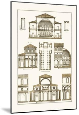Interior of Basilica-J^ Buhlmann-Mounted Art Print