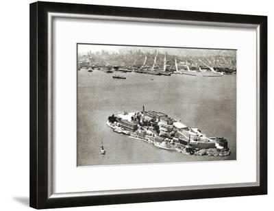 Alcatraz Island, San Francisco, California--Framed Art Print
