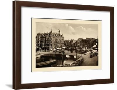 Binnen Amstel Hotel de l'Europe, Amsterdam--Framed Art Print