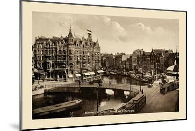 Binnen Amstel Hotel de l'Europe, Amsterdam--Mounted Art Print