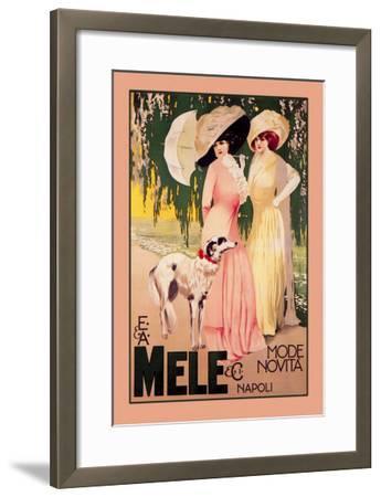 E. and A. Mele and Ci Mode Novita Napoli--Framed Art Print