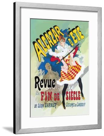 Alcazar d'Ete: Revue Fin de Siecle--Framed Art Print