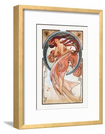 Dance-Alphonse Mucha-Framed Art Print