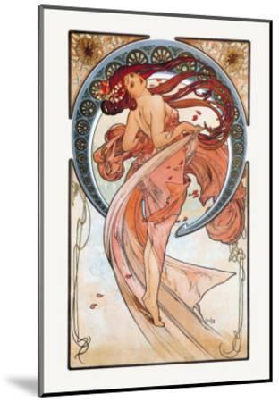 Dance-Alphonse Mucha-Mounted Art Print