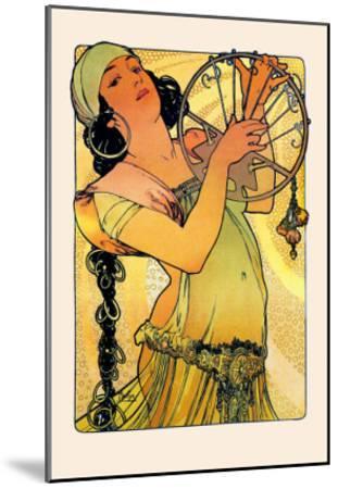 Salome-Alphonse Mucha-Mounted Art Print