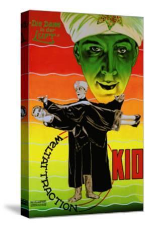 Die Dame in Der Luft: Weltattraction Kio--Stretched Canvas Print