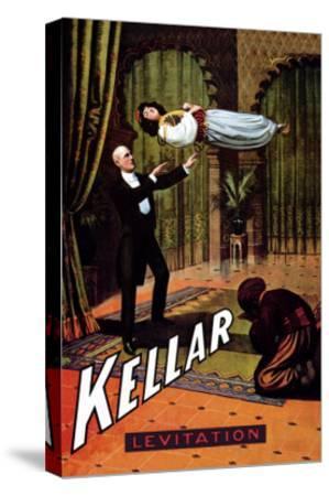 Kellar: Levitation--Stretched Canvas Print