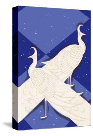 Indian Lyric-Frank Mcintosh-Stretched Canvas Print