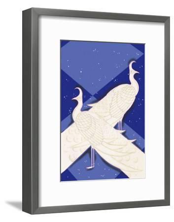 Indian Lyric-Frank Mcintosh-Framed Art Print