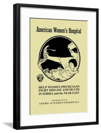 American Women's Hospital- Ruotolo-Framed Art Print