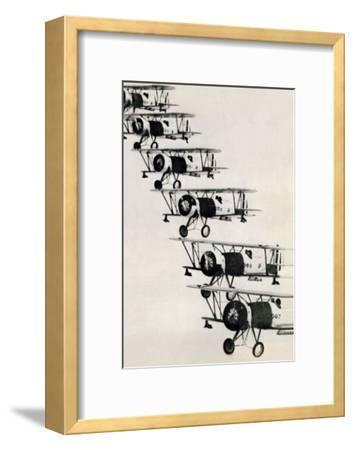 Flying in Formation--Framed Art Print