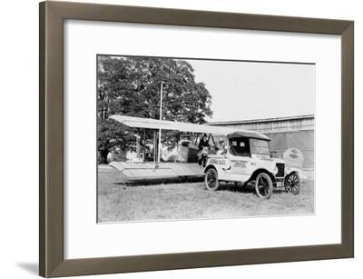 Ford Towing Plane--Framed Art Print