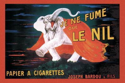 Je Ne Fume Que le Nil--Stretched Canvas Print