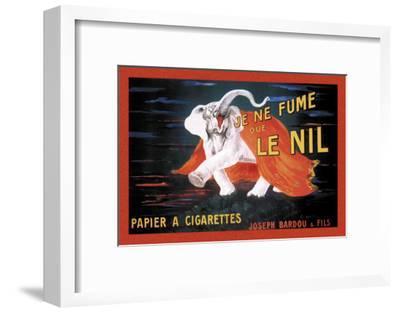 Je Ne Fume Que le Nil--Framed Art Print